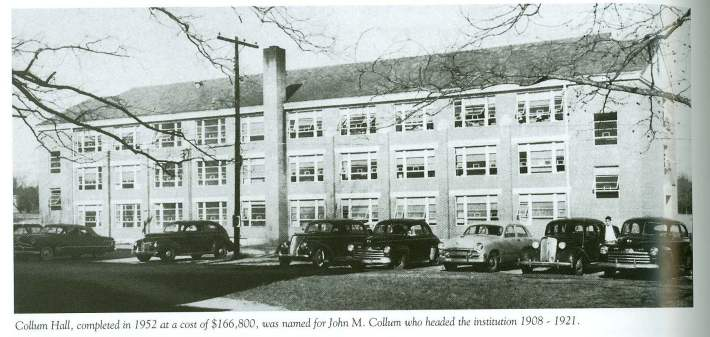 "View of building in photograph from the book ""Georgia Southwestern State University - A Century of Achievement 1906-2006""  by Mildred Tietjen, Associate Professor and Associate Dean, Emerita and GSWSU.  This book was published in 2005. (Photo courtesy of Georgia Southwestern State University)"